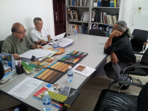 Initial meeting with Architect