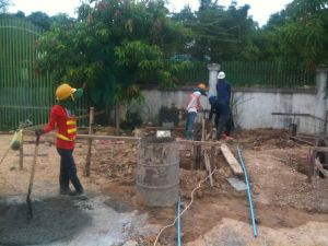 Preparing for the foundation