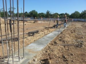 Preparing for the ground-beams