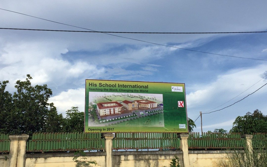 The story of how God establish His School in Cambodia No. 11